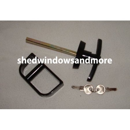 Shed T Handle Lock Set 6-1/2
