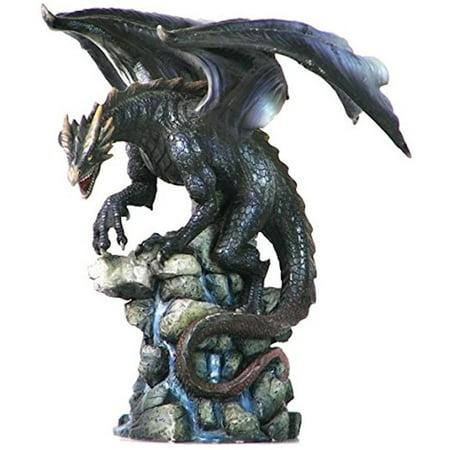 Veronese Design Wu75528aa Dragon Standing On Rock Spring Sculpture