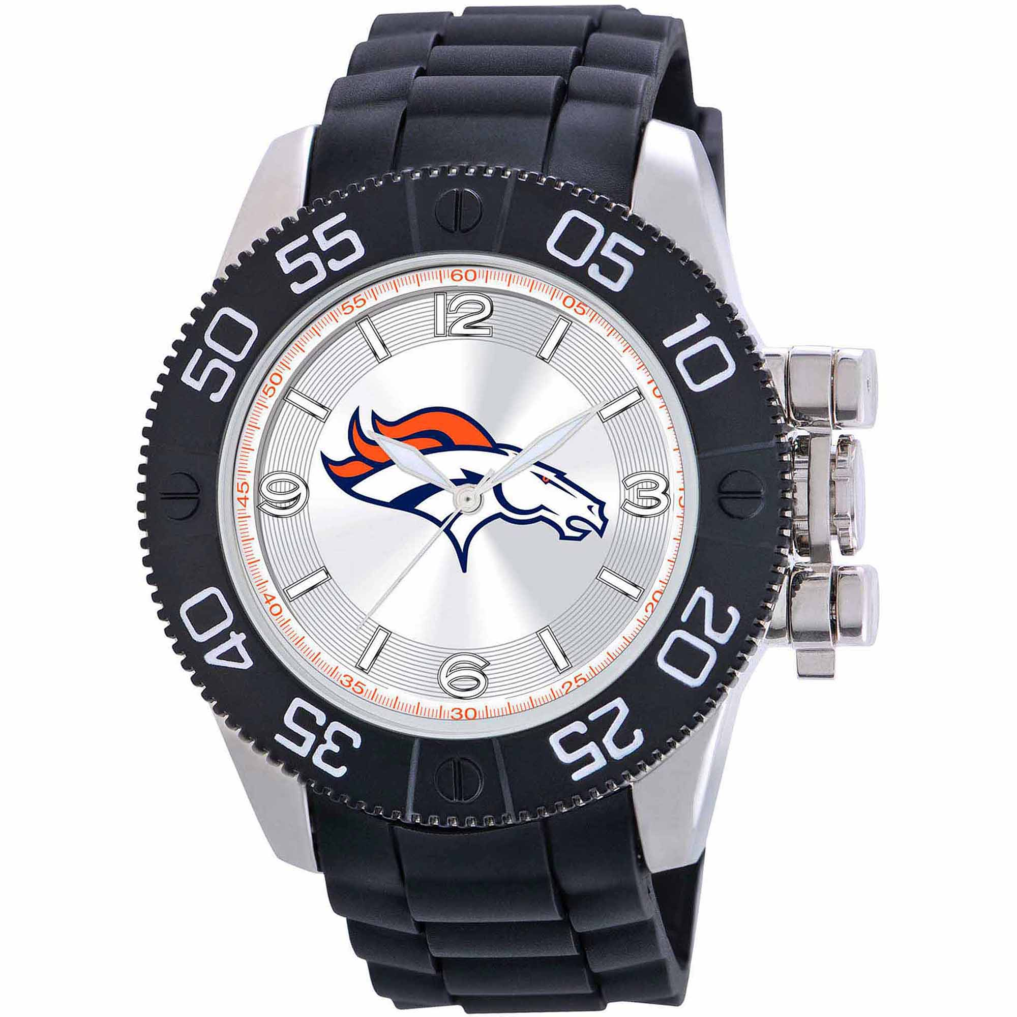 Game Time NFL Men's Denver Broncos Beast Series Watch