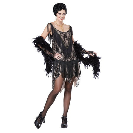 Womens Gatsby Gal Flapper Halloween Costume - Great Gatsby Female Outfits