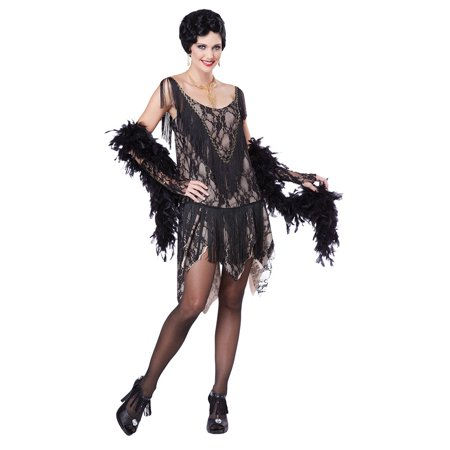 Womens Gatsby Gal Flapper Halloween Costume - Great Gatsby Attire For Women