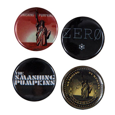 Smashing Pumpkins - Albums 4 Pack Button Set](Smashing Pumpkins Halloween 2017)
