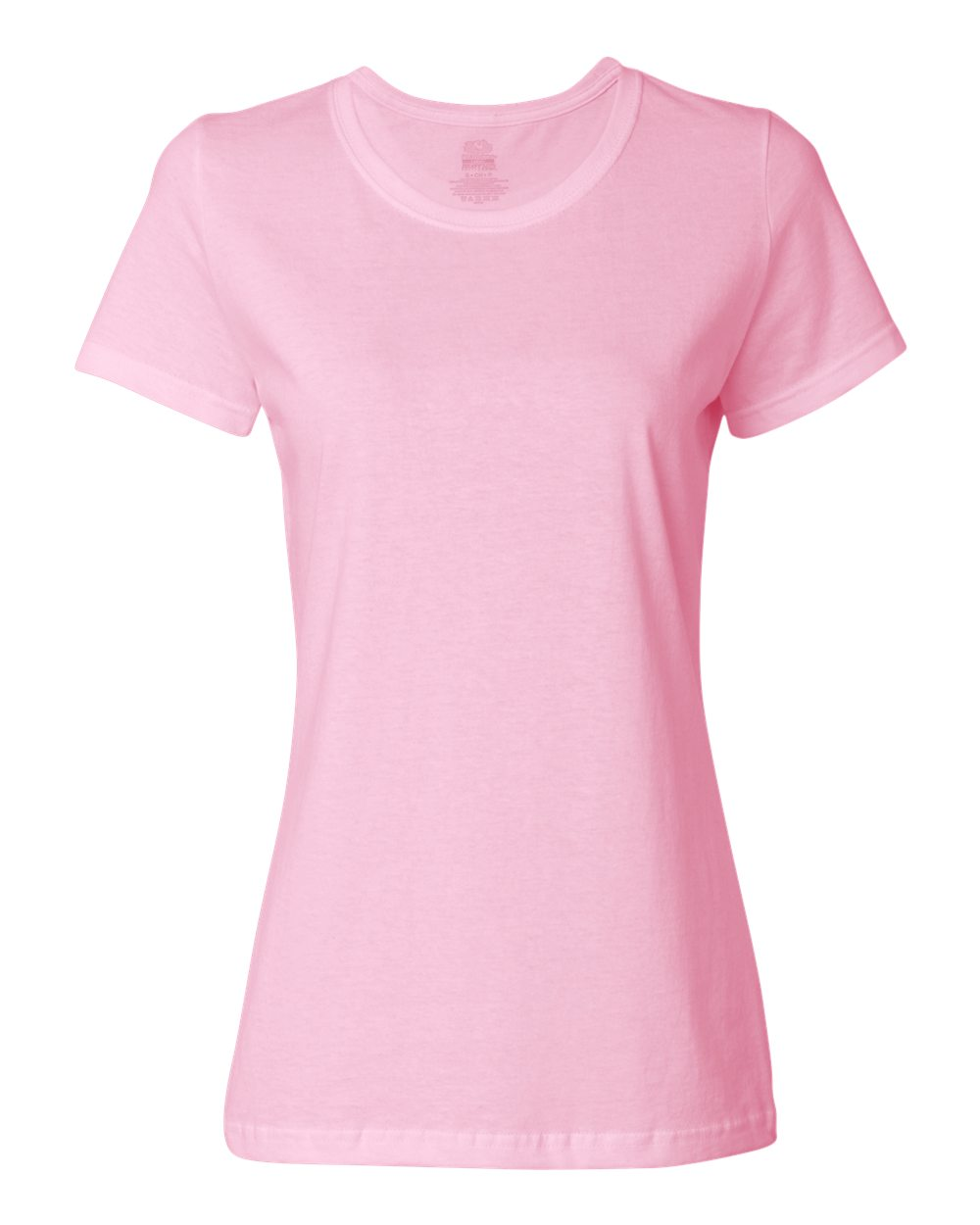 FRUIT OF THE LOOM LADY FIT WOMENS VALUE SHORT SLEEVE V NECK T-SHIRT SS702