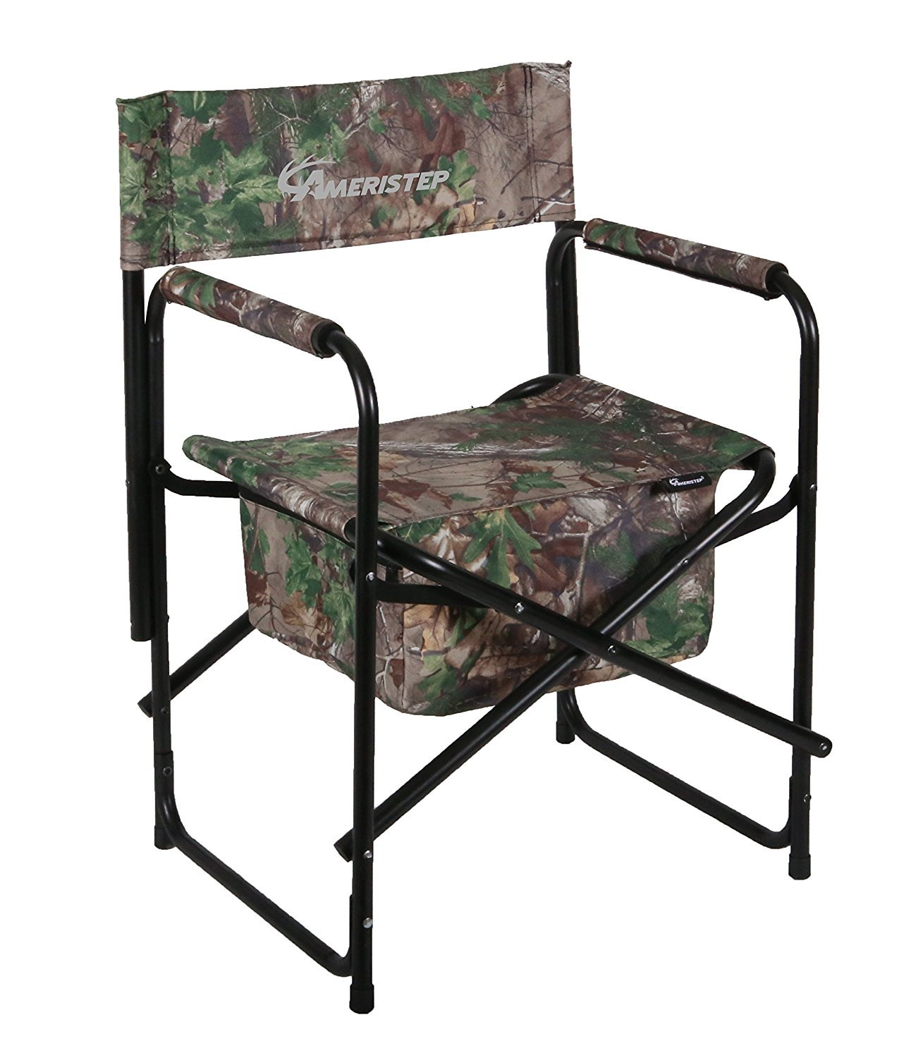 Directors Chair, Polyester Camo Heavy Duty Outdoor Hunting Director Chairs