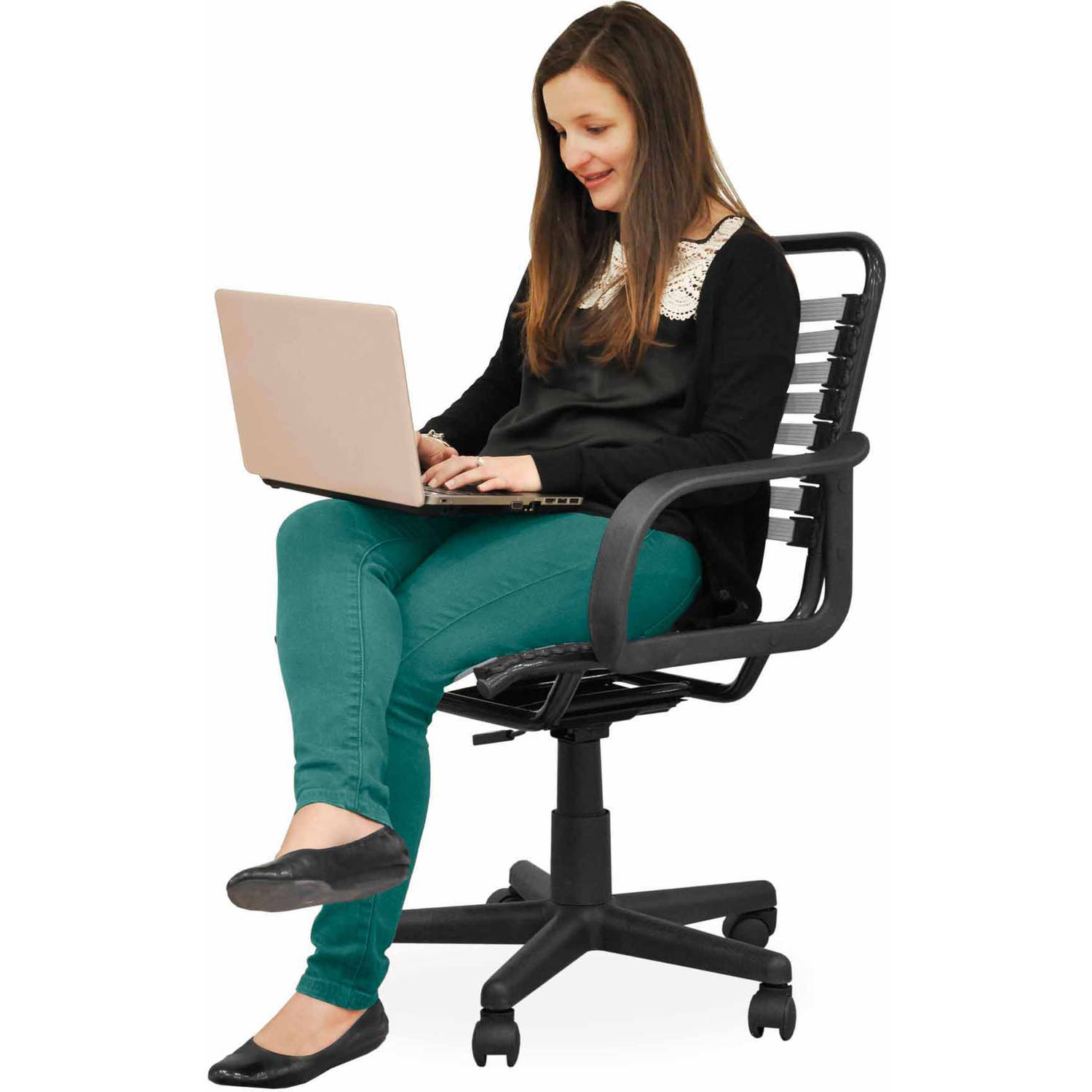 your zone bungee office chair multiple colors Walmart