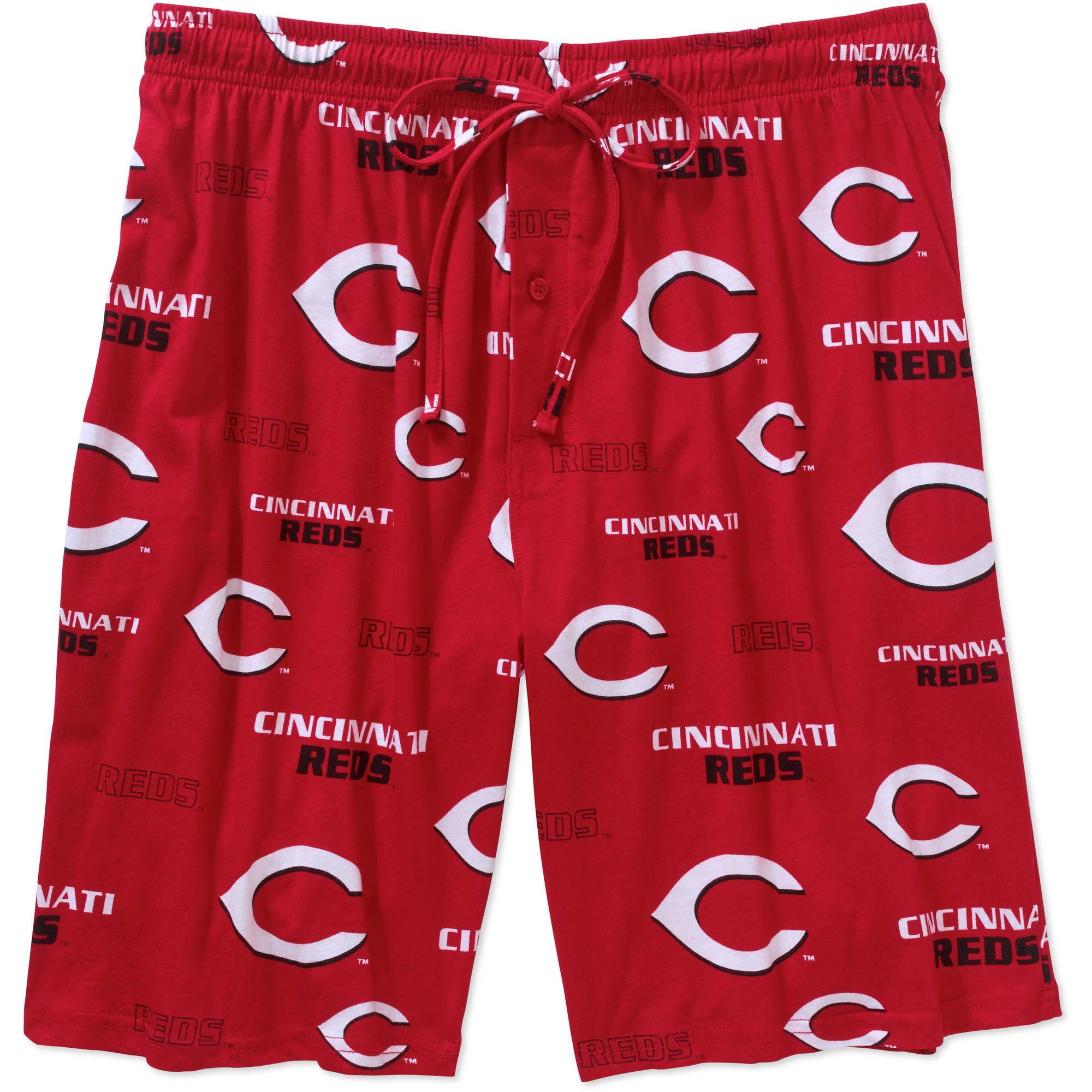 MLB Big Mens Cincinnati Reds Knit Jam Short, 2XL