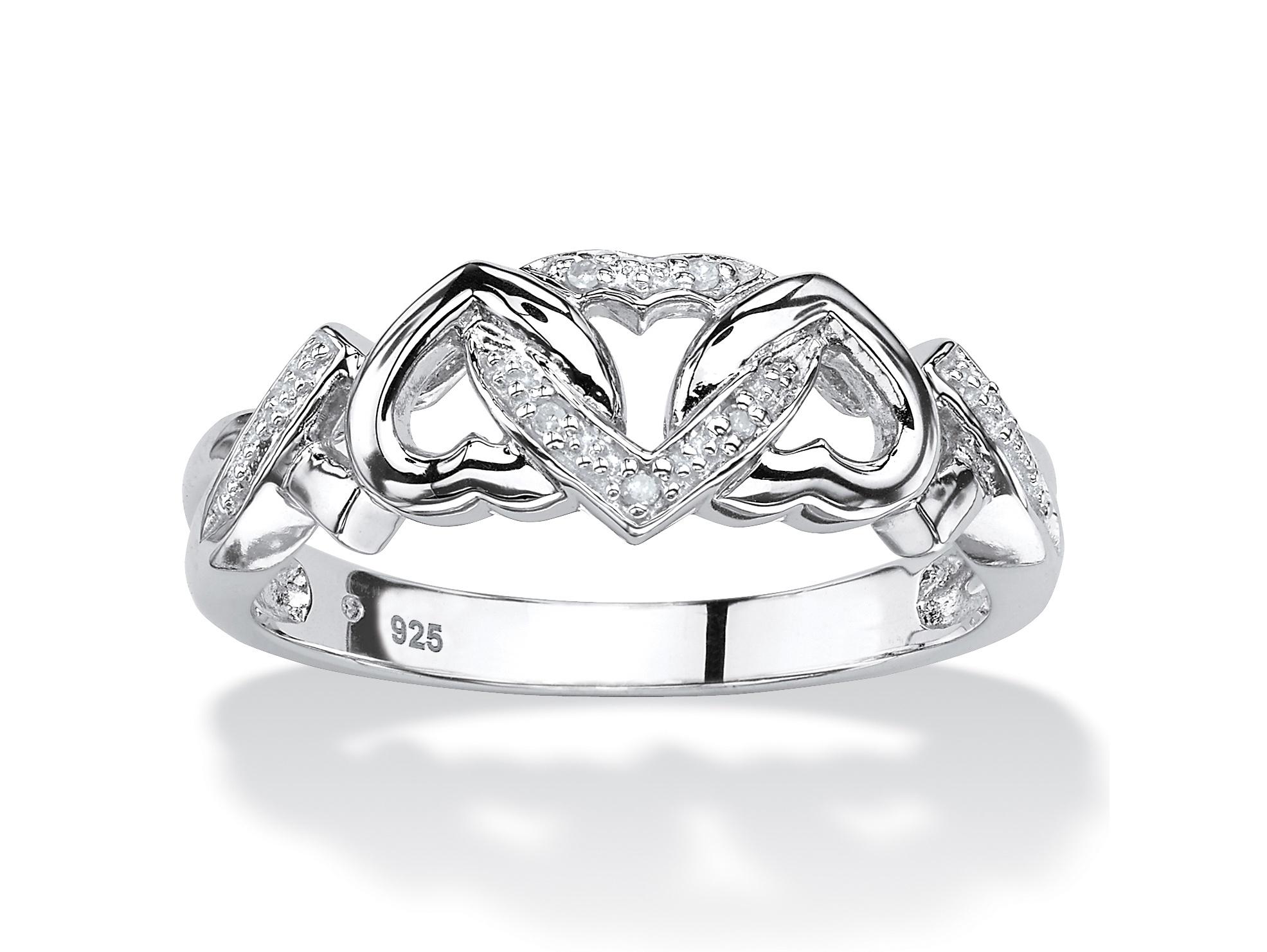 Beaded Sweetheart Ring