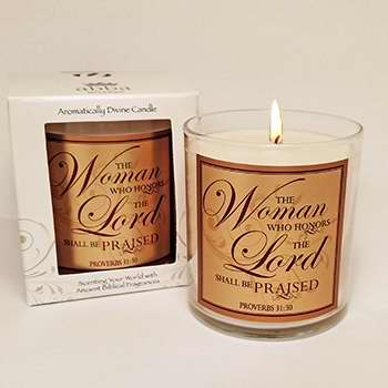 "Candle-Myrrh-Woman Who Honors (3"")"