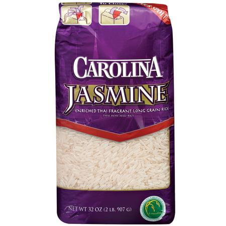 Carolina Jasmine Enriched Thai Fragrant Long Grain Rice, 32-Ounce Bag