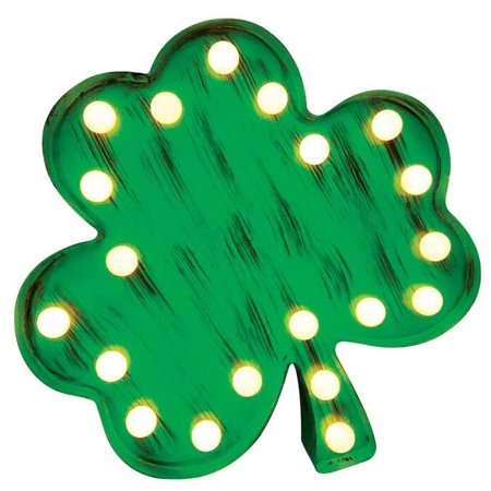 Shamrock Led Pins - Sylvania V88236-71 Tabletop LED Shamrock, Green