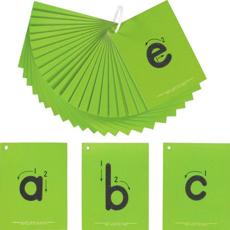 EZread™ Sandpaper Tactile Letters: (Wipe Lowercase Letters)