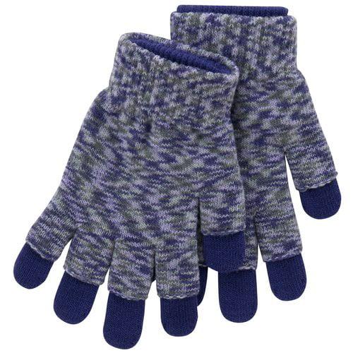 No Boundaries Space Dye 3-in-1 Gloves, Purple