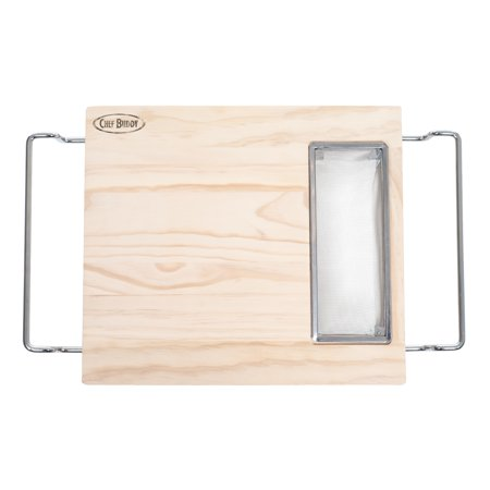 Over the Sink Wood Cutting Board by Chef Buddy ()