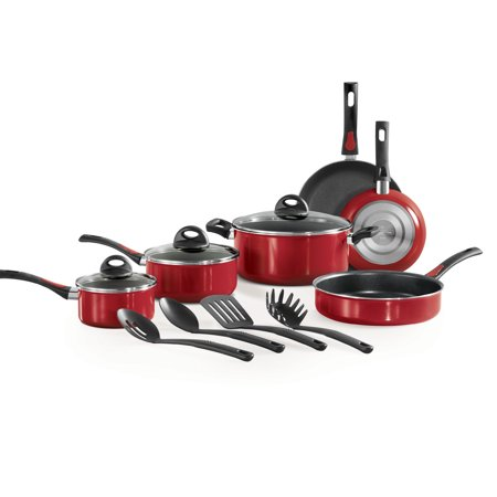 Tasty 11pc Cookware Set Non Stick Titanium Reinforced