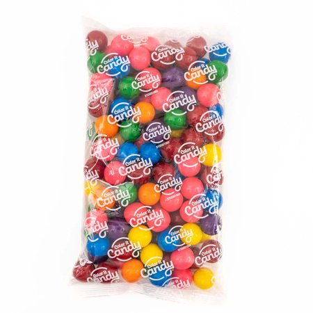 Candy Buffet Favors (Color It Candy Assorted Mix Gumballs 2 lb, Party Favors, Buffets,)