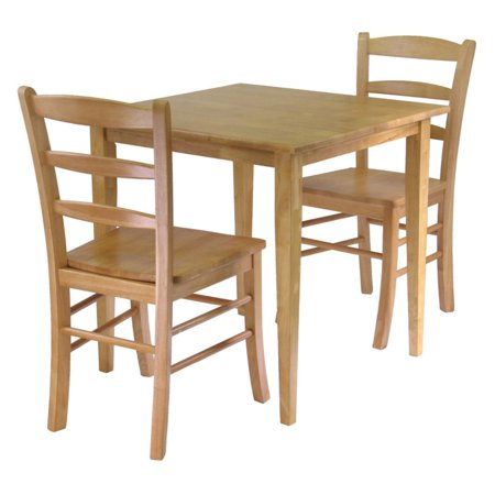 Groveland 3pc Dining Set, Square Table with 2 Chairs