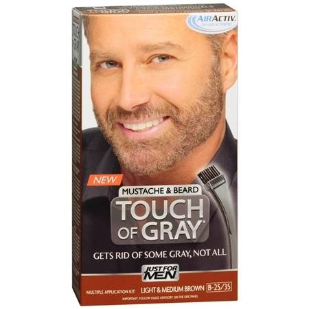 Just For Men Touch of Grey Mustache & Barbe Couleur de cheveux