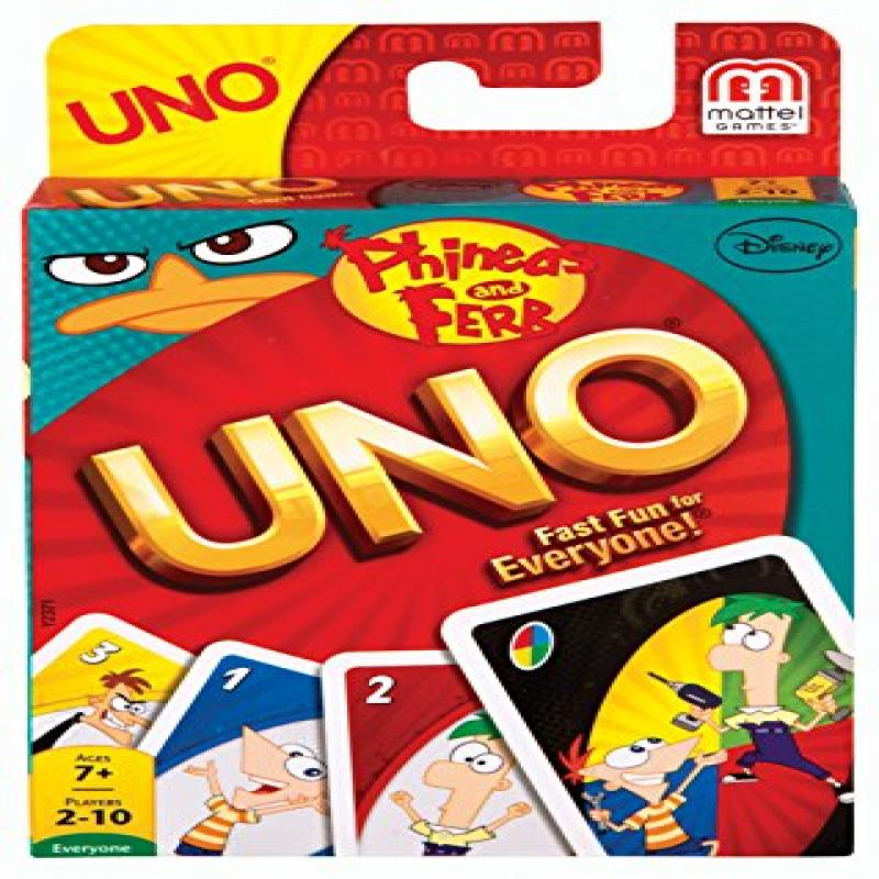 Phineas and Ferb UNO