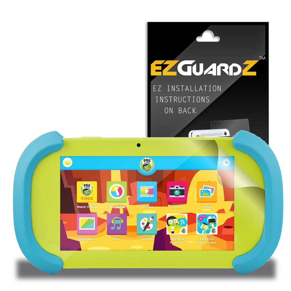 (1-Pack) EZGuardZ Screen Protector for Ematic PBS Kids Playtime Pad 7 (Ultra Clear)
