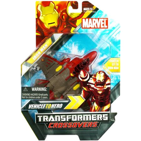 Marvel Transformers Transformers Crossovers Iron Man Action Figure [Jet Plane]