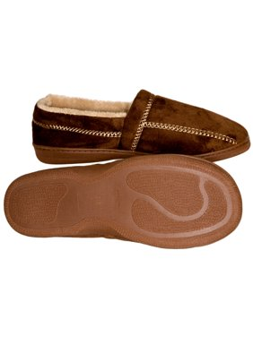 9c42f78df0a68 Product Image Deluxe Comfort Modern Moccasin Memory Foam Mens Slipper