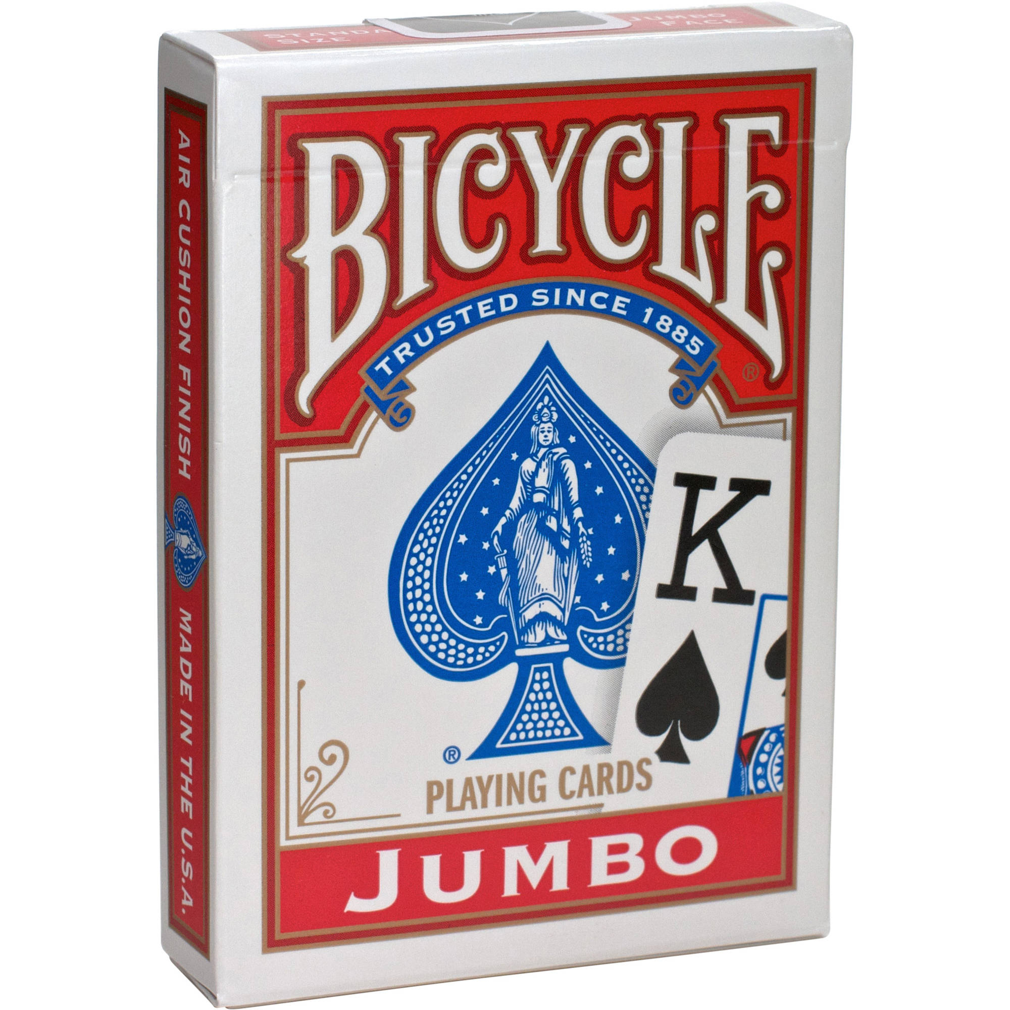 Bicycle Jumbo Indexed Traditional Playing Cards, Poker Size