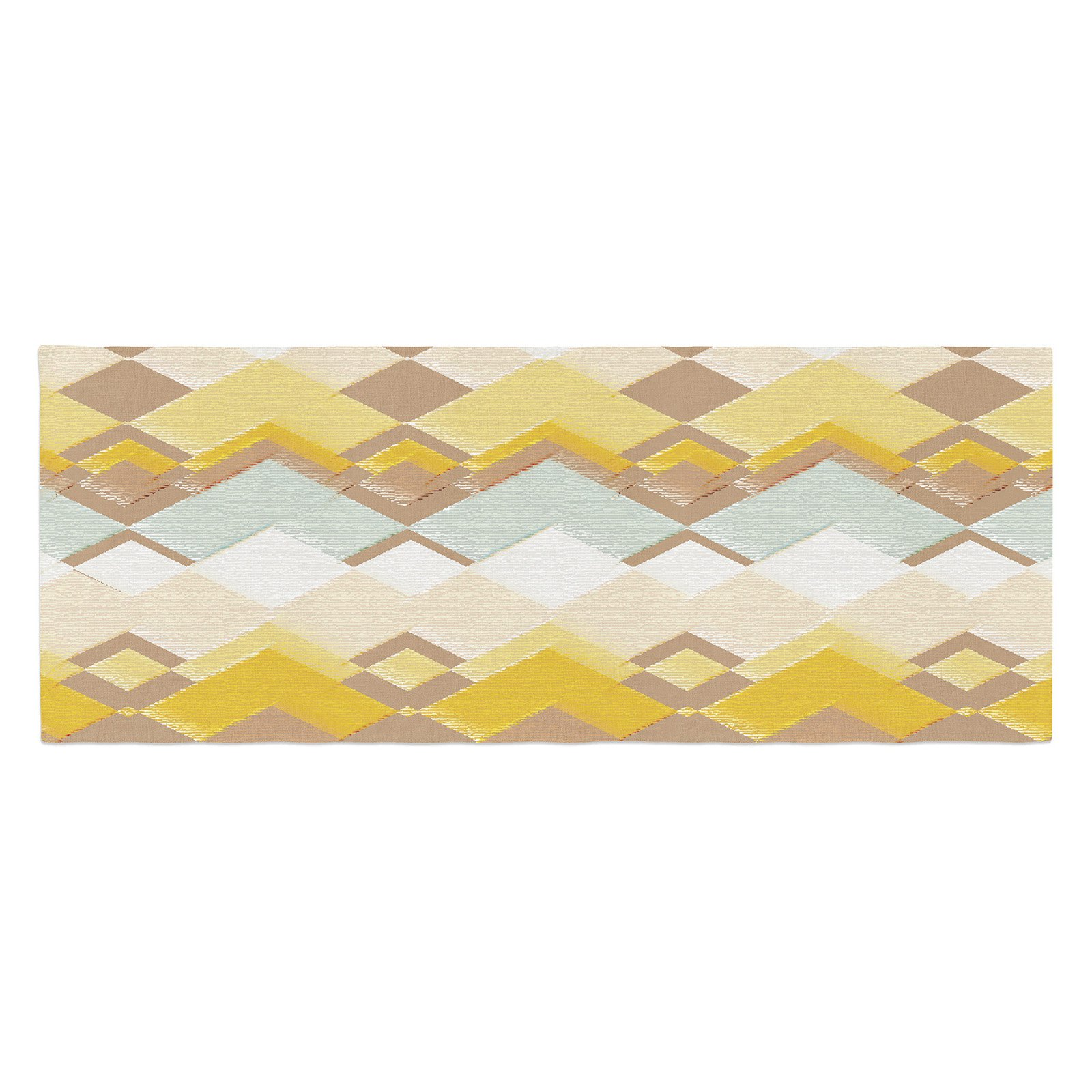 Nika Martinez Retro Desert Bed Runner by Kess InHouse