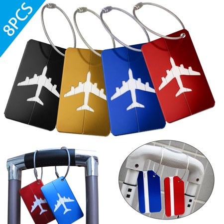 EEEkit 8 Pack Luggage Tags Label Cruise Instrument Bag Case Tags & Luggage Tags & Bag Tags