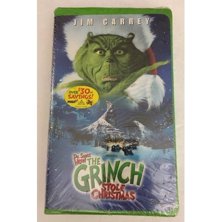 Dr Seuss' How the Grinch Stole Christmas(VHS,1990)RARE VINTAGE-SHIPS N 24 HOURS](Halloween Is Grinch Night Vhs)