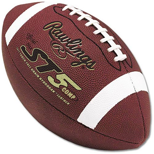 Rawlings ST5 Composite Football, Ages 9-12