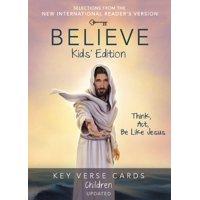 Believe Key Verse Cards: Children (Hardcover)