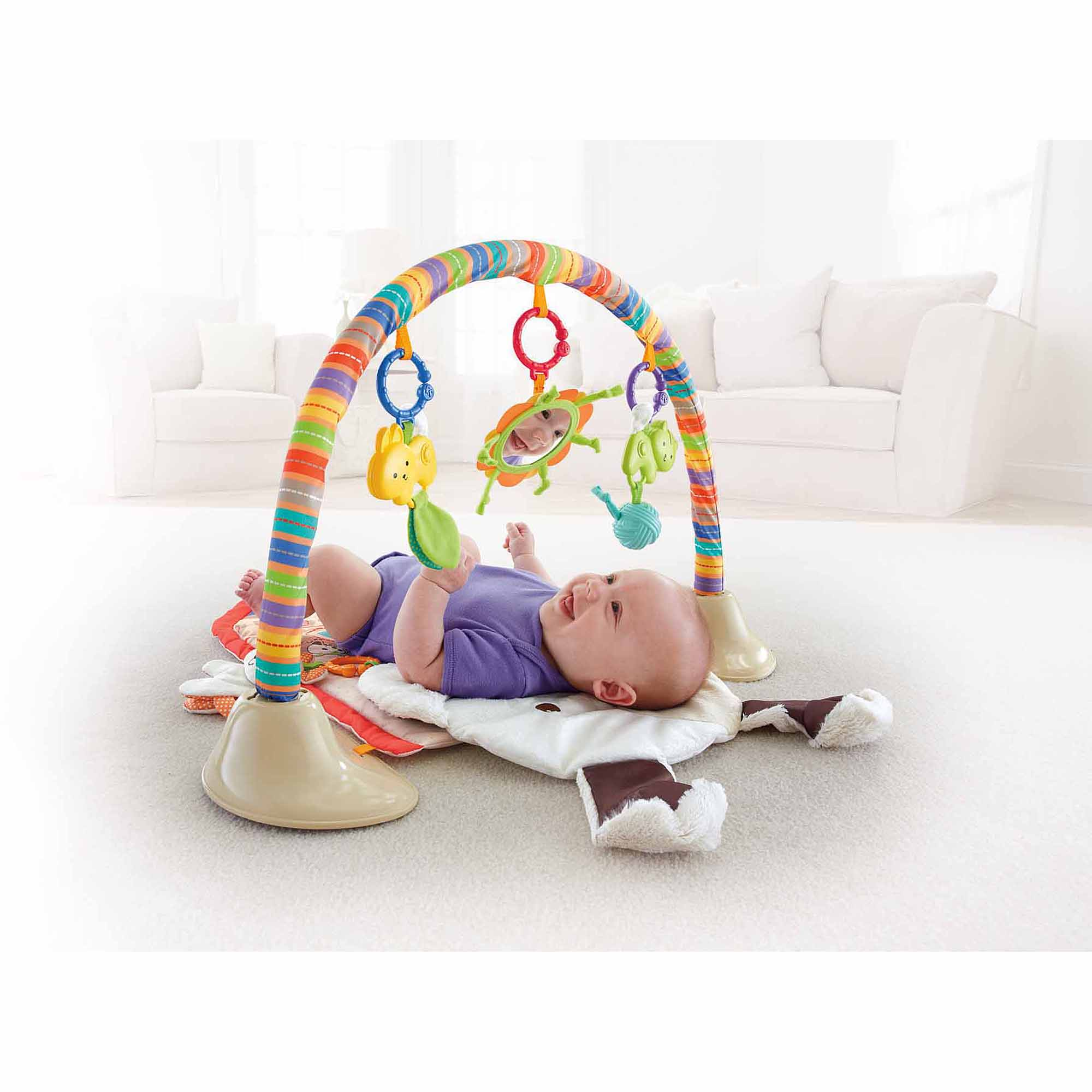 Fisher-Price My Little Snuggapuppy Cuddle 'N Play Gym