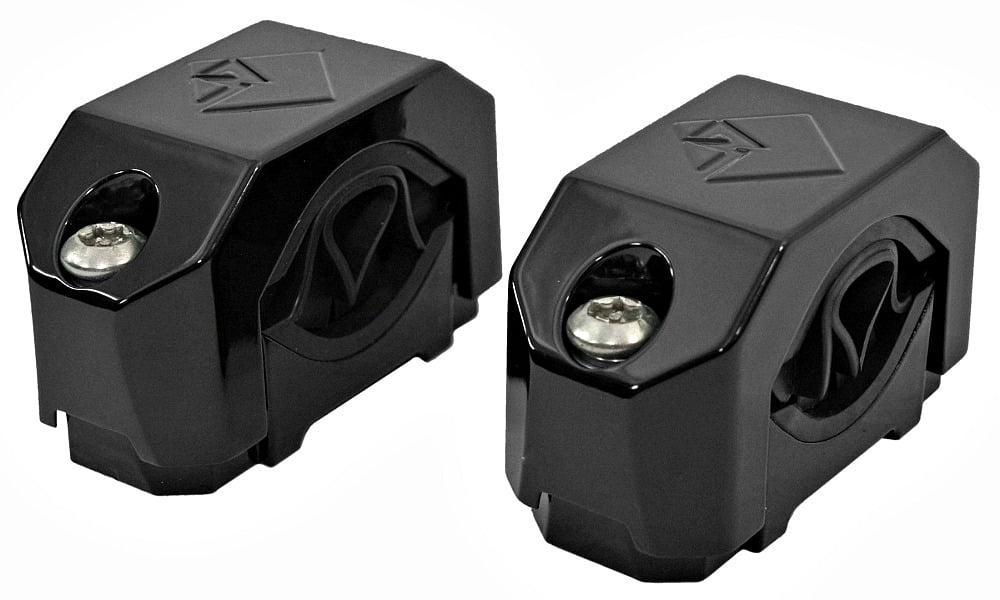 Rockford Fosgate PM-CL2B Marine Diecast Mini Wakeboard Tower Speaker Clamp Black by Rockford Fosgate