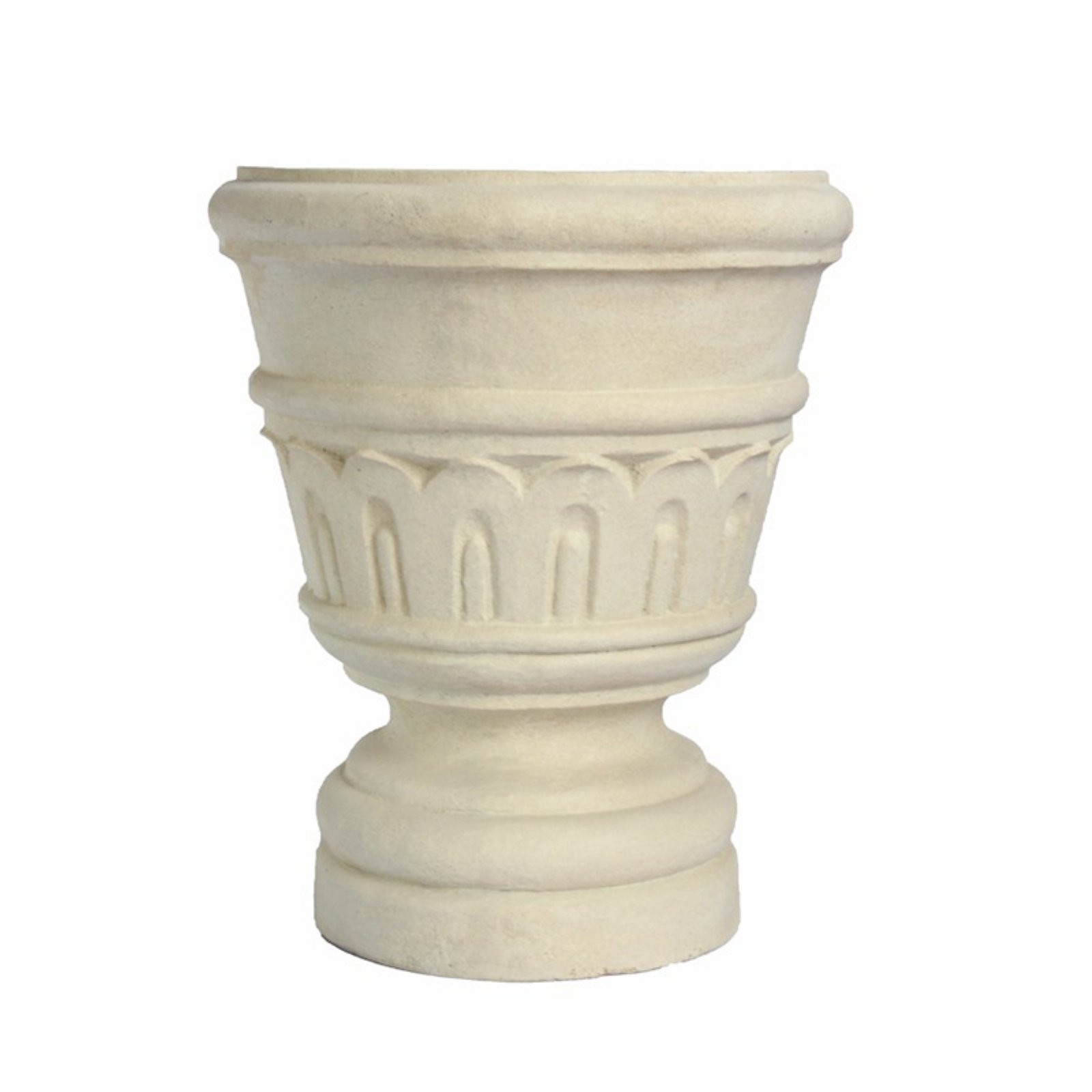 Anderson Teak Wilton Urn Planter by Outdoor Urns