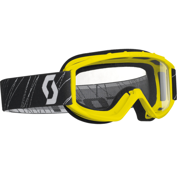 Scott 89 Si Youth MX/Offroad Goggles Yellow