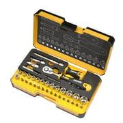 Spacio Innovations 057 836 56 0.25 in. R-GO Stubby Imperial Ergonic Ratchet Multi-Tools Set