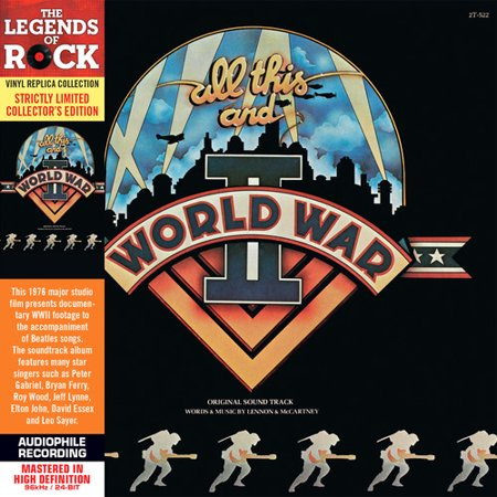 All This & World War II Soundtrack (Remaster) (CD) (This Halloween Fun Size Soundtrack)
