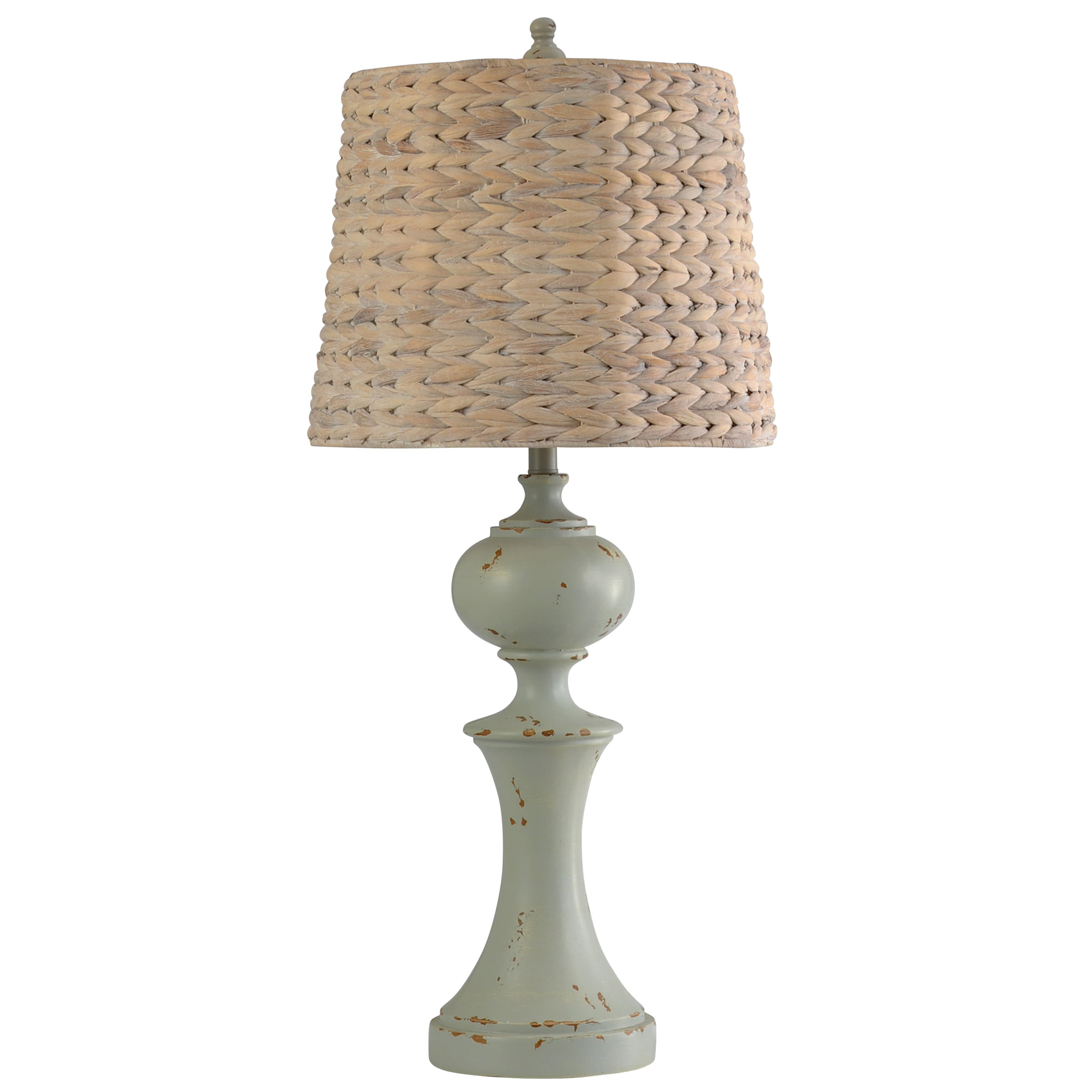 Basilica Sky - Traditional Table Lamp - Natural Seagrass ...
