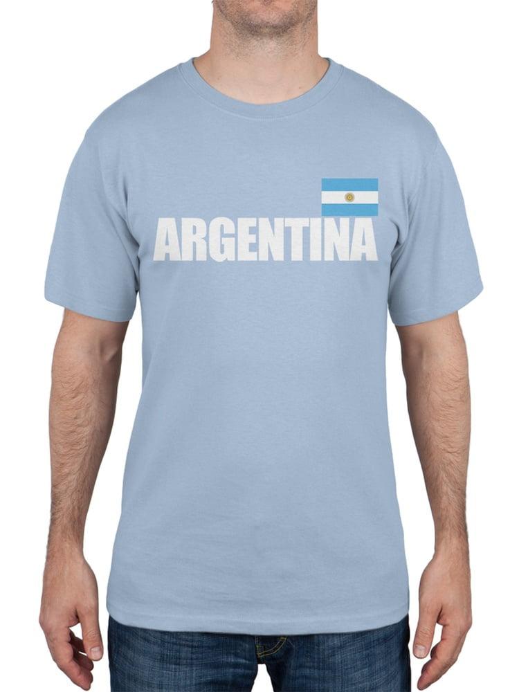 FIFA Argentina Flag /& Letters Light Blue Soccer Mens Tank Top