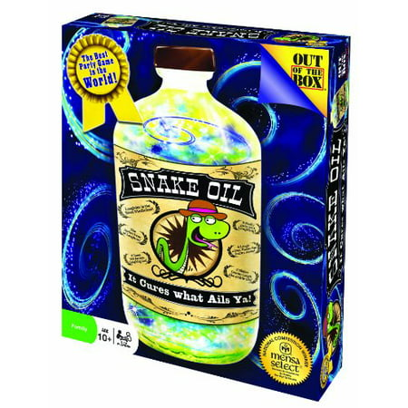 snake oil card game (discontinued by manufacturer)