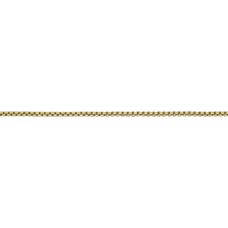 Round Hollow Rolo Chain - 14kt Yellow Gold 1.5mm Hollow Round Box Chain