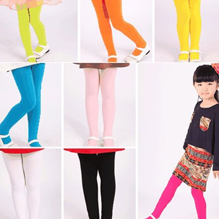 0560b79375f Heepo - Heepo Toddler Kid Girl Solid Color Ballet Dance Stretch Opaque  Pantyhose Footed Tights - Walmart.com