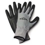ROC10TL The Roc Nitrile Coated Palm, Grey Nylon Shell Glove - Large