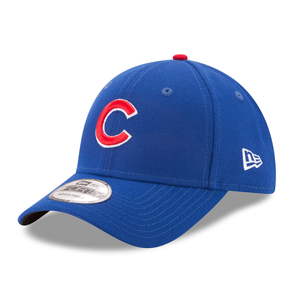Chicago Cubs New Era Men's League 9Forty Adjustable Hat - Royal - OSFA