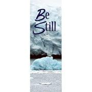 Banner-Winter-Be Still (2' x 6') (Indoor)