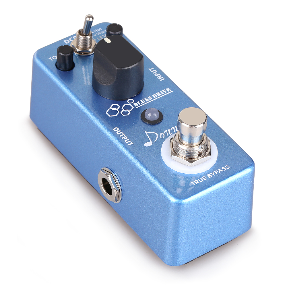 Donner Blues Drive Classical Electronic Vintage Overdrive Guitar Effect Pedal True Bypass... by
