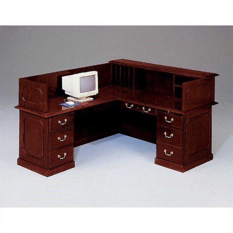 """Flexsteel Governors 66"""" Reception Desk-Left desk"""
