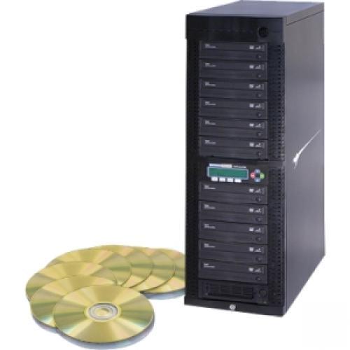 Kanguru 11 Target, 24x DVD Duplicator with Internal Hard Drive - Standalone - DVD-Writer - 24x DVD R, 24x DVD-R, 12x DVD R, 12x DVD-R, 52x CD-R - 22x DVD R/RW, 22x DVD-R/RW - USB, TAA Compliant