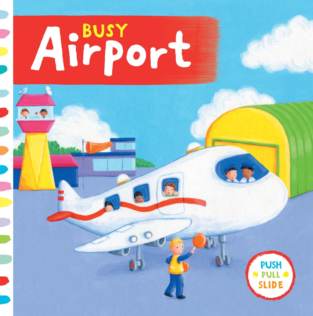 Busy Airport (Board Book)