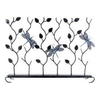 Achla Designs Dragonflies Summer Fireplace Screen